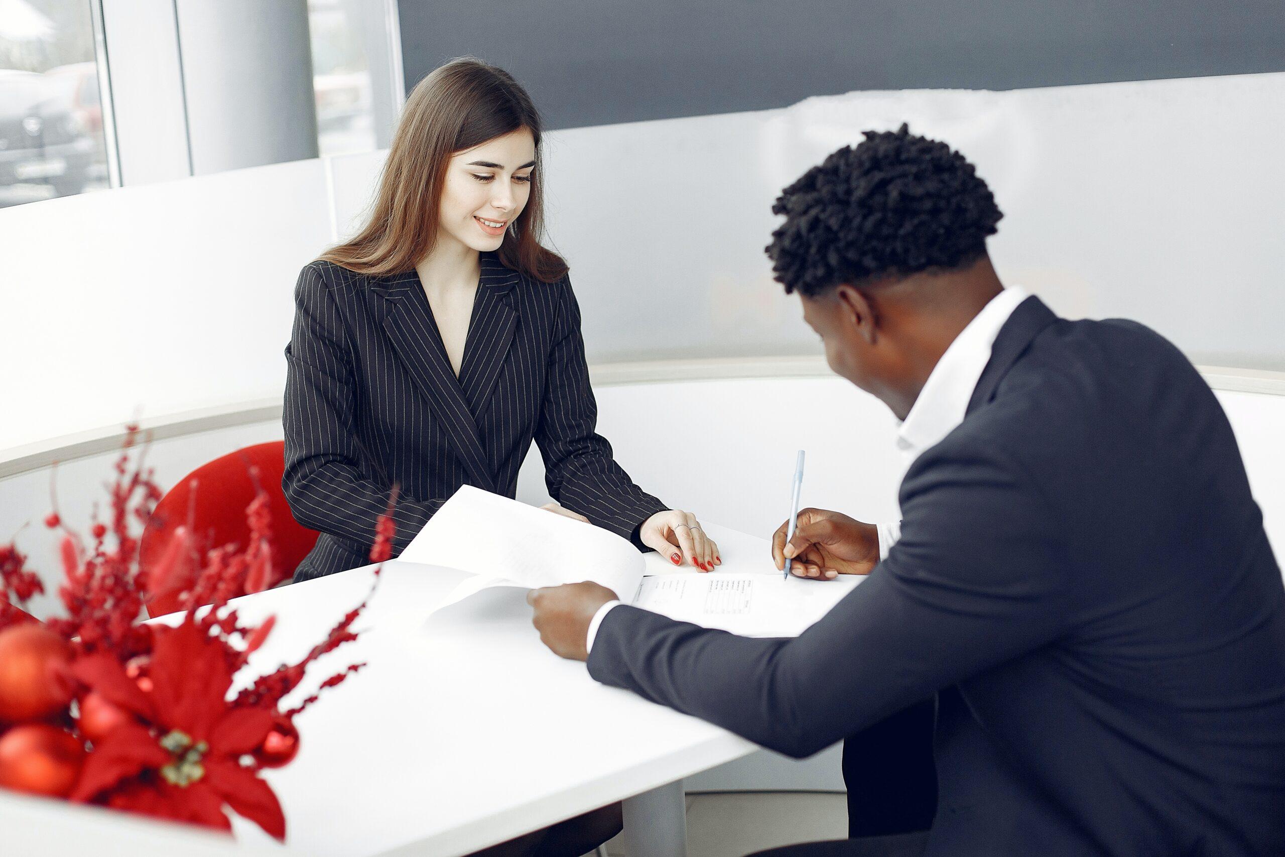 Business Coach client